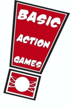 Basic Action Games Logo