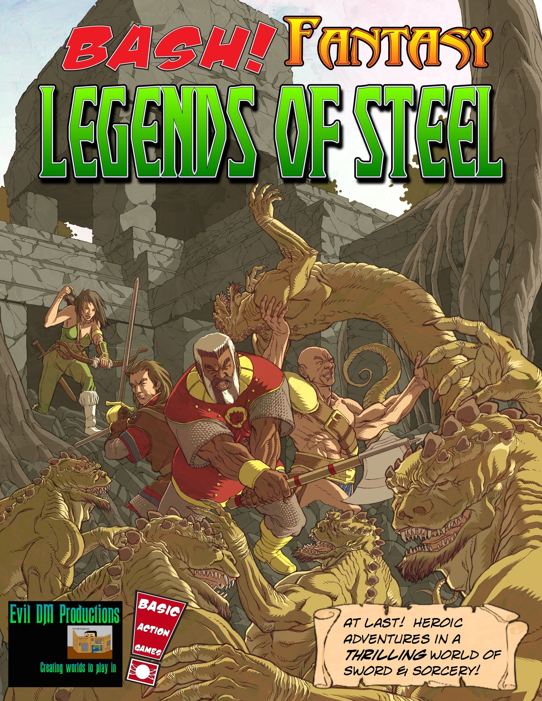 Legends of Steel Cover